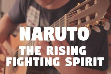 Naruto – The Rising Fighting Spirit fingerstyle tabs (Fabio Lima)