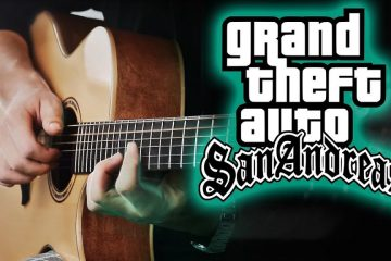 OST GTA San Andreas fingerstyle tabs