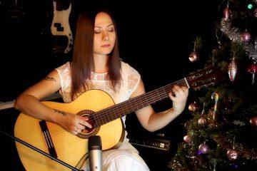 Carol of the Bells fingerstyle tabs (Marina Mirakova)