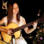 Carol of the Bells fingerstyle tabs (Marina Mirakova)