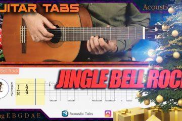 Jingle Bell Rock fingerstyle tabs