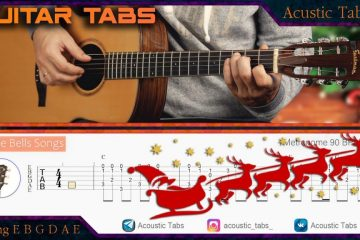 Jingle Bells fingerstyle tabs