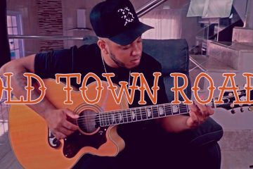 Lil Nas X – Old Town Road fingerstyle tabs (Hebert Freire)