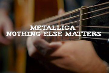 Metallica – Nothing Else Matters fingerstyle tabs (Dmitry Levin)