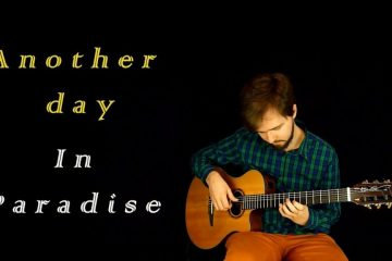Phil Collins – Another Day In Paradise fingerstyle tabs (Raiko Baichev)