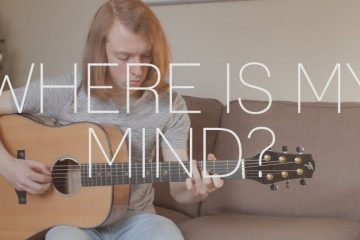Pixies – Where Is My Mind? fingerstyle tabs (James Bartholomew)
