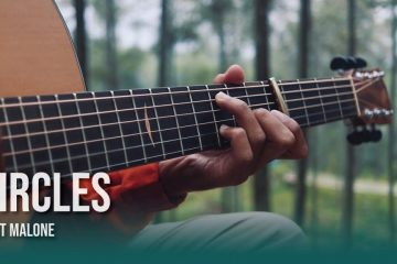 Post Malone – Circles fingerstyle tabs (Iqbal Gumilar)