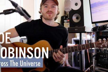 The Beatles – Across the Universe fingerstyle tabs (Joe Robinson)