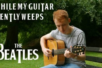 The Beatles – While My Guitar Gently Weeps fingerstyle tabs (James Bartholomew)