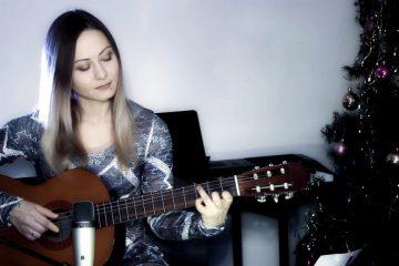 We Wish You a Merry Christmas fingerstyle tabs (Marina Mirakova)