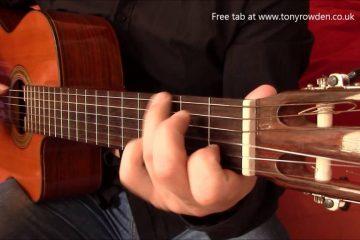 Ennio Morricone – Frank's Theme fingerstyle tabs