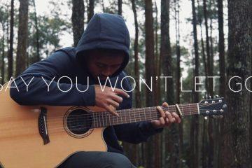 James Arthur – Say you wont let go fingerstyle tabs (Iqbal Gumilar)