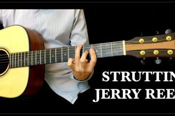 Jerry Reed – Struttin fingerstyle tabs (Lorenzo Polidori)