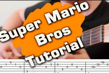 OST Suрer Мario Вrоs fingerstyle tabs