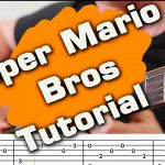 OST Super Mario Bros fingerstyle tabs