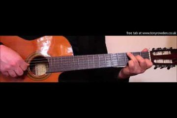 Simon And Garfunkel – The Boxer fingerstyle tabs