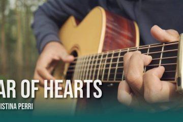 Christina Perri – Jar of Hearts fingerstyle tabs (Iqbal Gumilar)