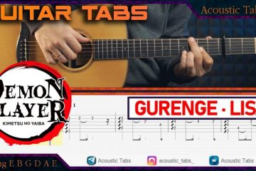 Demon Slayer – Gurenge fingerstyle tabs