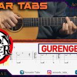 Demon Slayer – Gurenge fingerstyle tabs