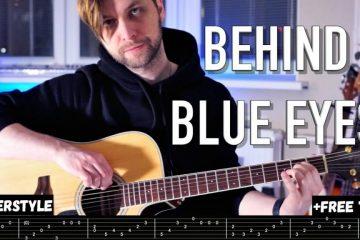 Limp Bizkit – Behind Blue Eyes fingerstyle tabs