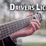 Olivia Rodrigo  – Drivers License fingerstyle tabs (Peter John)