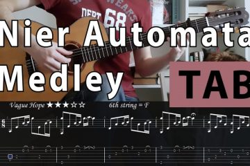 OST NieR: Automata fingerstyle tabs
