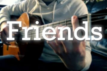 Marshmello & Anne-Marie – Friends fingerstyle tabs (Roman Sable)