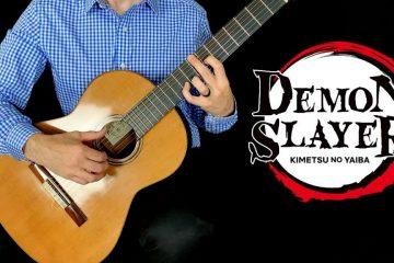 Demon Slayer: Kimetsu no Yaiba OP- Gurenge fingerstyle tabs
