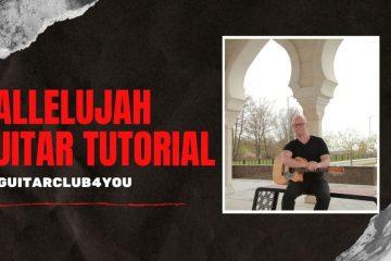 Leonard Cohen – Hallelujah fingerstyle tabs (Yury Volkov)