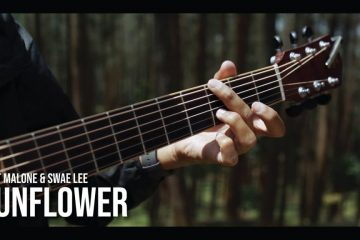 Post Malone & Swae Lee – Sunflower fingerstyle tabs (Iqbal Gumilar)