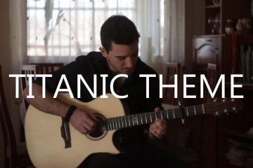 Titanic theme – My Heart Will Go On fingerstyle tabs (Peter Gergely)