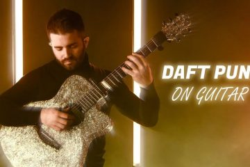Daft Punk – Lose Yourself To Dance fingerstyle tabs (Luca Stricagnoli)