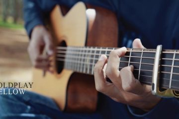 Coldplay – Yellow fingerstyle tabs (Iqbal Gumilar)