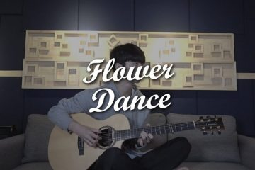 DJ Okawari – Flower Dance fingerstyle tabs (Sungha Jung)