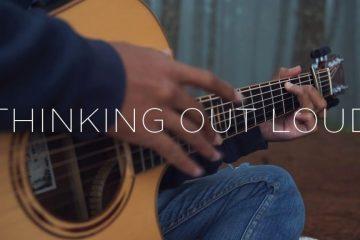 Ed Sheeran – Thinking Out Loud fingerstyle tabs (Iqbal Gumilar)